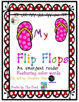 My flip flops A Colorful story
