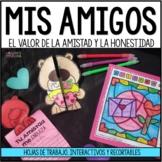 My friends_Honesty_Activities/Mis amigos y la honestidad Preescolar(spanish)