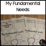 My fundamental needs