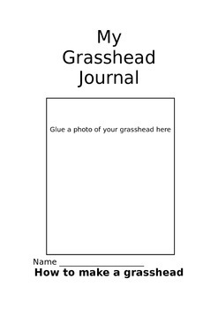 My grass head journal