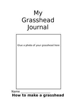 My grass head journal
