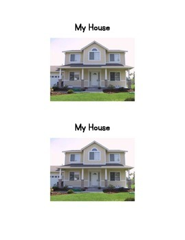 My house Emergent Reader
