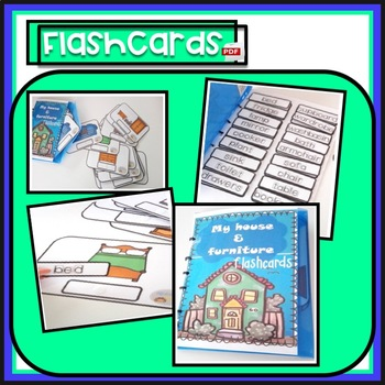 My house & furniture - flashcards