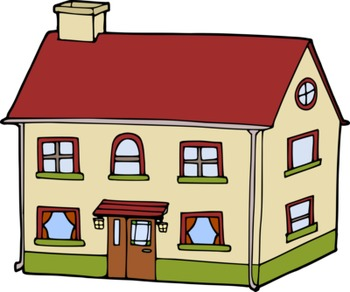 My house looks like.. House Types Clipart with Free Preview - Tipos de casa