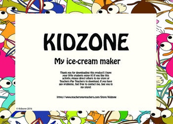 My ice-cream maker