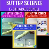 Making Butter Experiment:  Investigating Fat In Churning Butter With 2nd-5th