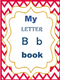 My letter B book