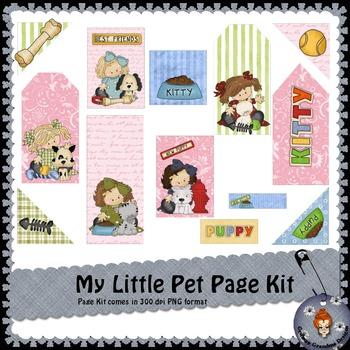 My little Pet Page Kit