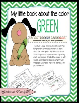 My little book about the color green Mi librito sobre el c