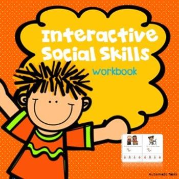 Interactive Social skills workbook- Autism/kindergarten