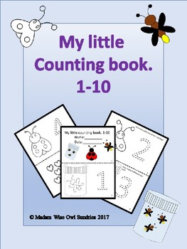 My little counting book 1-10