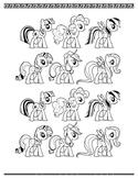 My little pony Trial sheet/Reinforcement