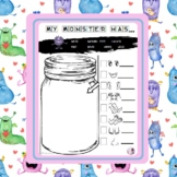 My monster has ... - Parts of the body