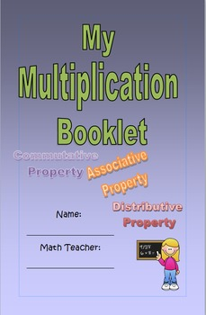 My multiplication booklet