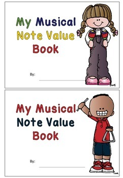 My musical note value book