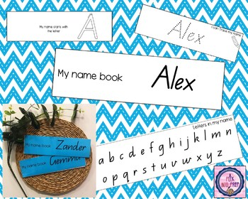 My Name Booklet Editable