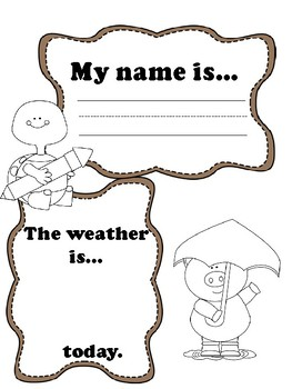 My name is - sign in name sheet