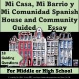 My neighborhood and my community essay- for Spanish LOTE
