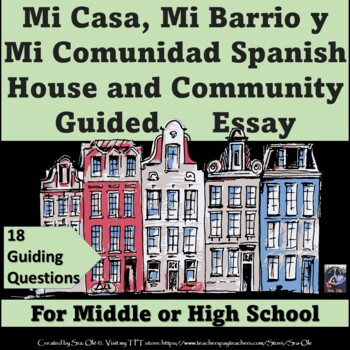My Neighborhood And My Community Essay For Spanish Lote By Sra Ole My Neighborhood And My Community Essay For Spanish Lote The Thesis Statement In A Research Essay Should also Writing Service Database  How To Write A Proposal For An Essay