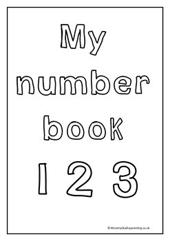 My number book - promoting number recognition for prek