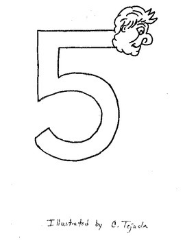 My number coloring book