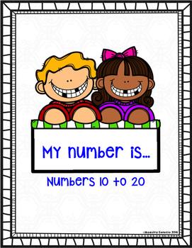My number is... (Teen numbers)
