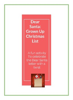 My Grown-Up Christmas List to Santa
