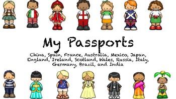 My passport 15 countries Bundle