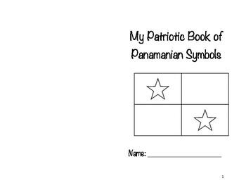 My patriotic Panamanian Book