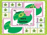 My short e word families