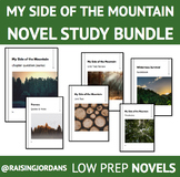 DISTANCE LEARNING- My side of the Mountain Novel Study BUNDLE