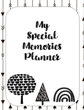 My special memory planner