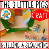My story box. The 3 pigs. Great Craftivity. Retelling and Language Therapy