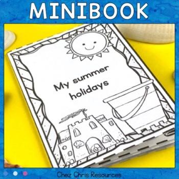 My summer holidays Mini-Book