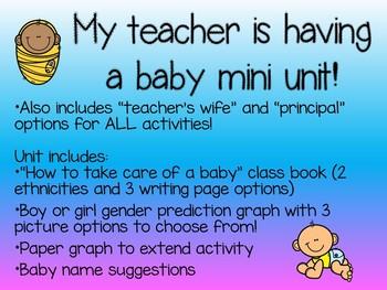 My teacher is having a baby!