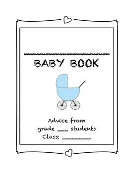My teacher is having a baby - class advice book (blue cover)