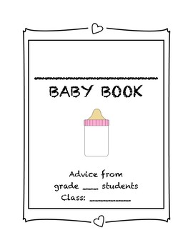 My teacher is having a baby - class advice book (pink cover)