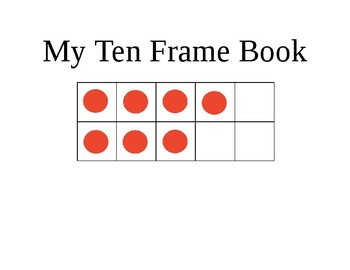My ten frame book