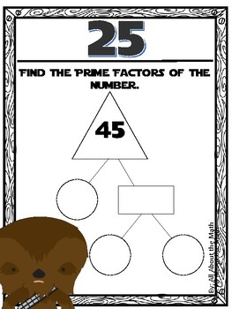 Order of Operations/Prime Factors May the Knowledge Be With You