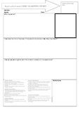 My time, our place learning story template