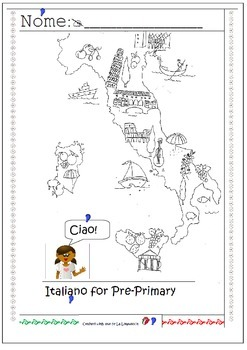 My very first Italian Geography lesson