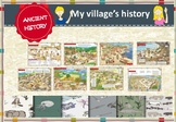 Ancient History villages. Distance Learning. Google Classroom.