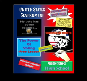 American Government - My vote has power because...