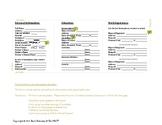 MyKey Pocket Resume