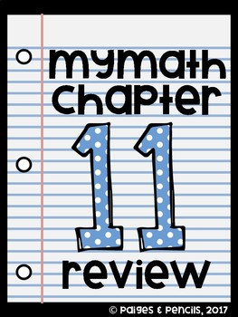 MyMath 3rd Grade - Chapter 11 Review for Measurement