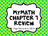 MyMath 3rd Grade - Chapter 7 Review