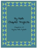 MyMath 3rd Grade Chapter Projects 1-9