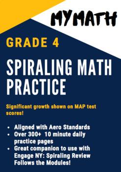MyMath G4 Spiraling Math Practice