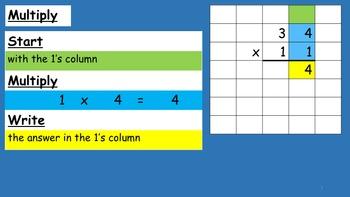 MyMathSkills 2 digit by 2 digit Multiplication #1