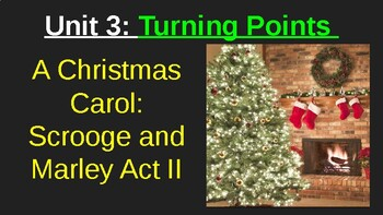 MyPerspectives - Unit 3: A Christmas Carol: Scrooge and Marley Act II Lesson